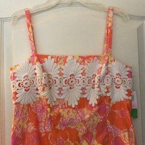 NWT Lilly Pulitzer Shift Dress Sundress 6